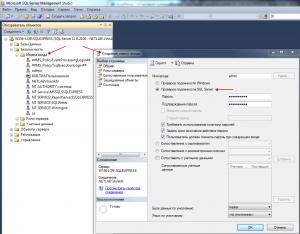 SQL create User