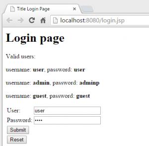 SS login page