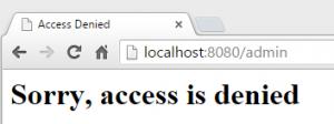 ss access denied