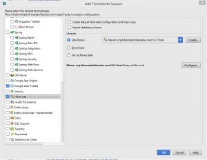 add Gwt-Hibernate frameworks