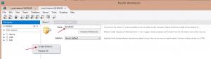 MySQL create Schema